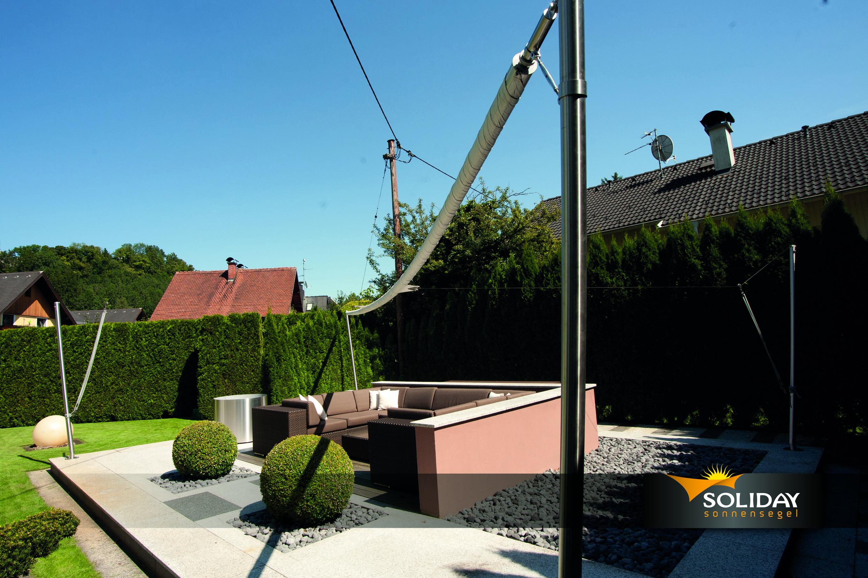 Toldos vela terraza cerrado. Madrid. Ventux
